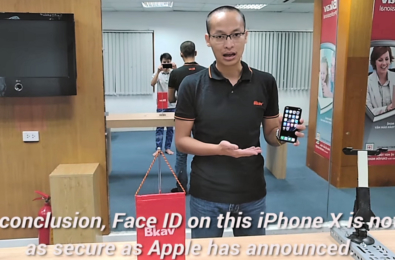 """In conclusion Face ID on the iPhone X is not as secure as Apple has announced"" 13"