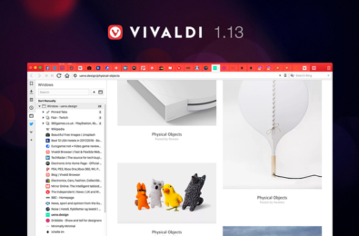 Vivaldi browser v1.13 brings new tab management feature, more 8
