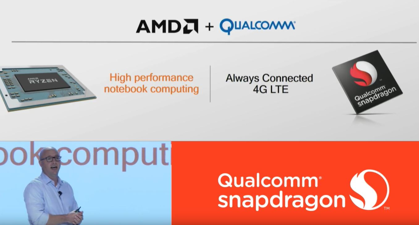 AMD partners with Qualcomm to bring LTE to high-end Windows laptops 1