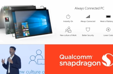 For laptops, is Long battery life or being Always Connected most important? Qualcomm reveals the answer 3