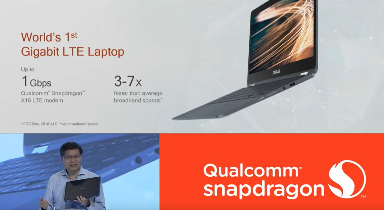 Asus announces its first Snapdragon Windows 10 device with 22 hours of battery life 2