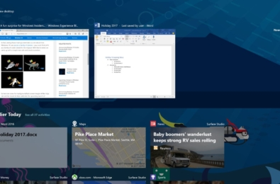 Microsoft releases Windows 10 Build 17063 with Timeline, Cortana Improvements and more 15