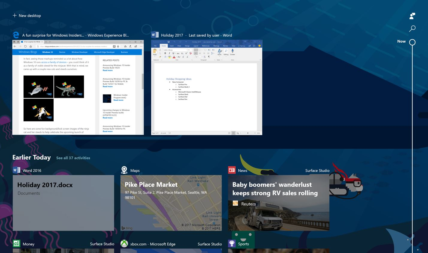 Microsoft releases Windows 10 Build 17063 with Timeline, Cortana Improvements and more 1