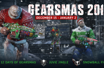 Gearsmas 2017 event comes to Gears of War 4 this Friday 8
