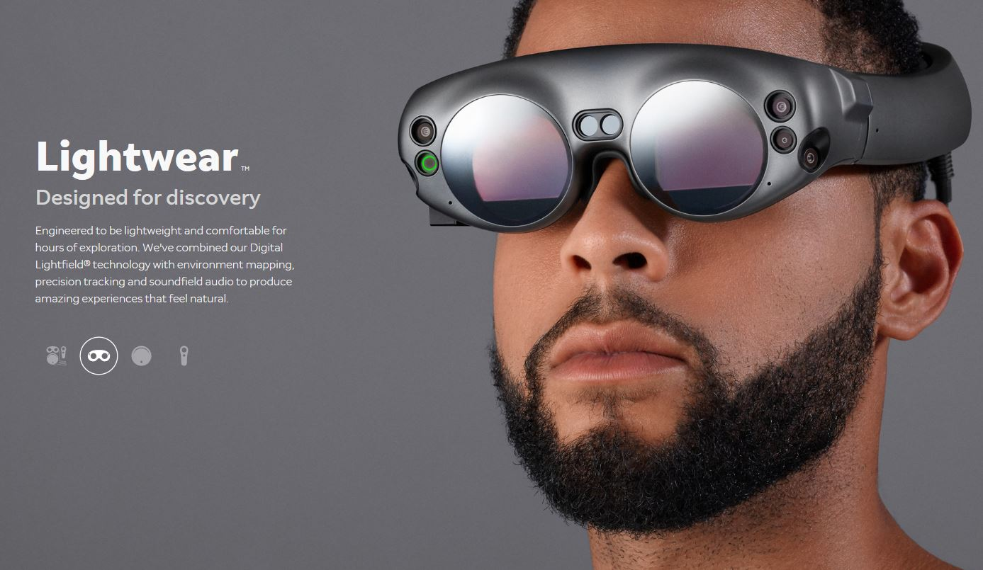 Magic Leap Finally Reveals Its Ar Headset Developer