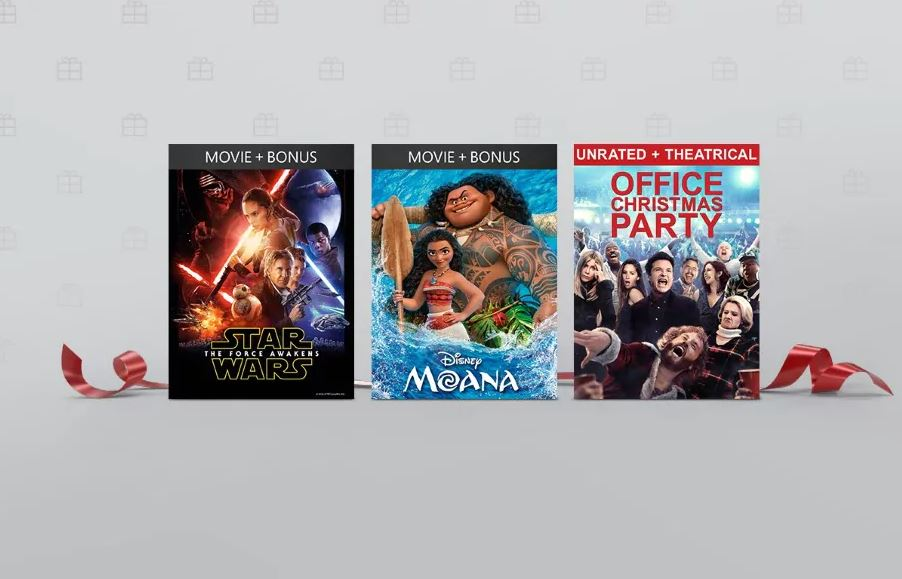 12 Days of Deals Save up to 60 on select digital movies and TV