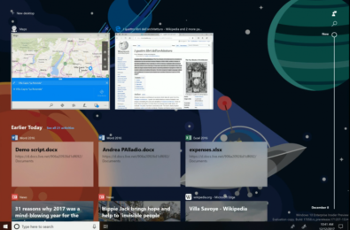 Windows Timeline gets demoed in the latest Insider Webcast 24