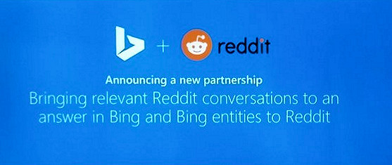 Reddit partners with Microsoft and Bing for AI tools