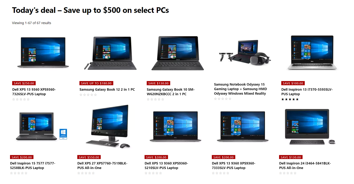 12 Days of Deals: Save up to $500 on PCs and laptops at the Microsoft Store 2