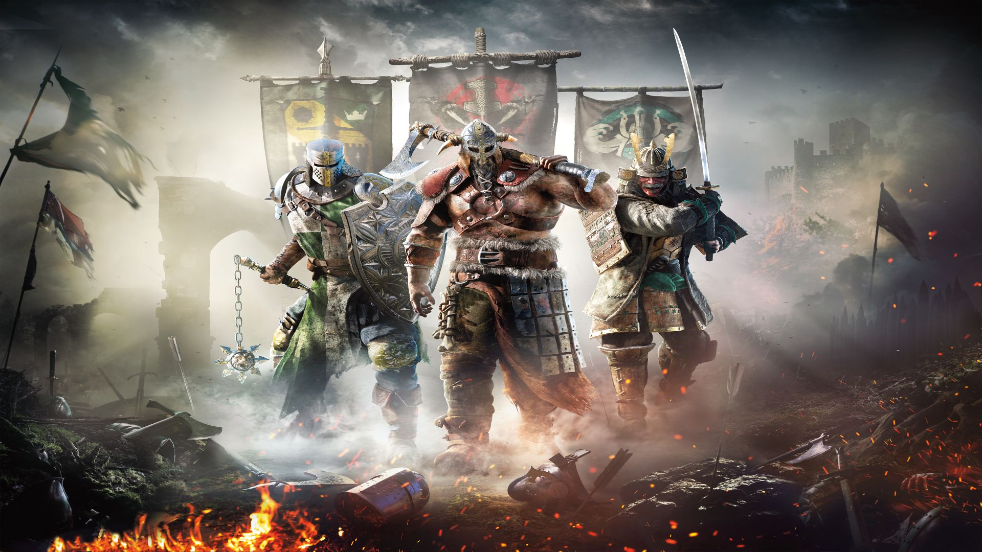 For Honor finally gets dedicated servers next month