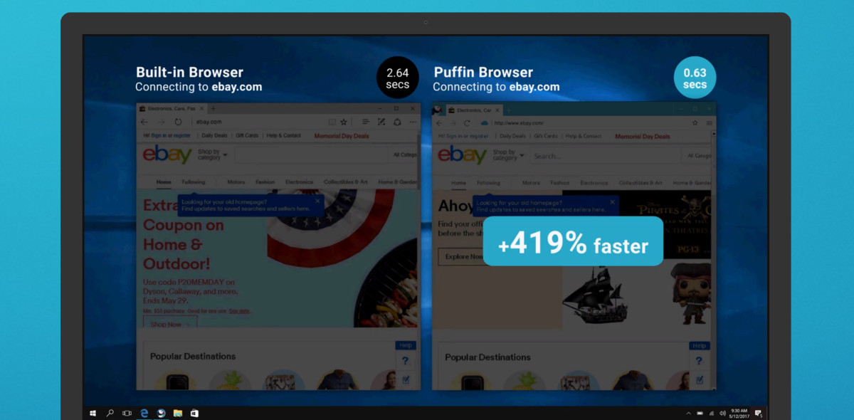 Super-fast Puffin browser makes the jump from iOS and