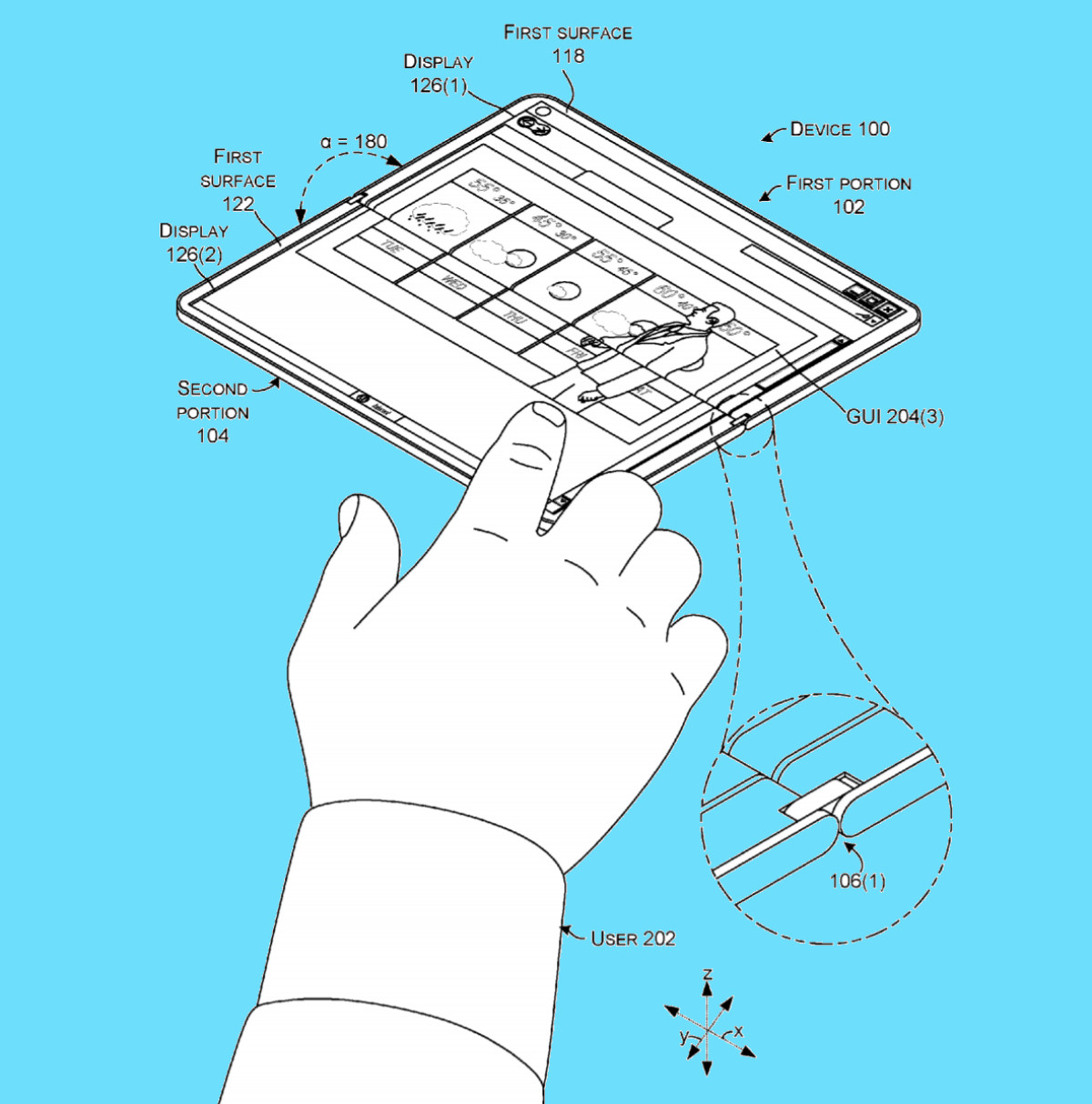 Yet Another Patent Shows Foldable Surface