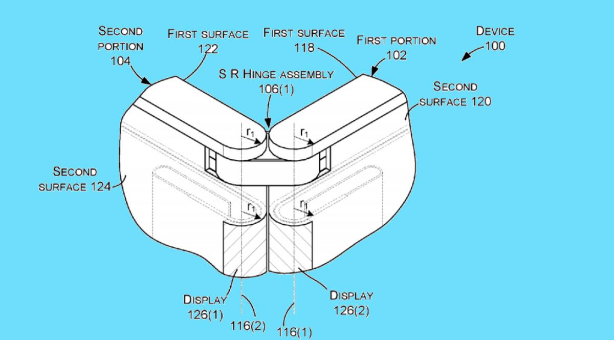Microsoft's Latest Foldable Design Patent Could Be For The Surface Phone