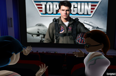 Bigscreen and Paramount to host traditional screening of Top Gun in Windows Mixed Reality 9