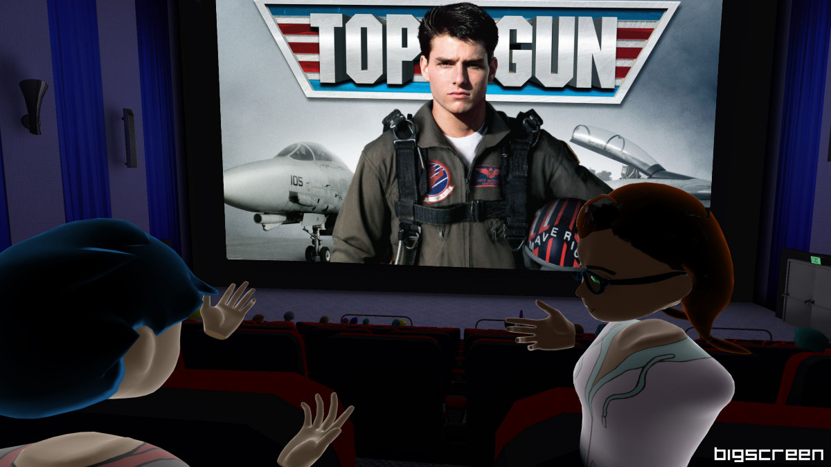 Bigscreen and Paramount to host traditional screening of Top Gun in