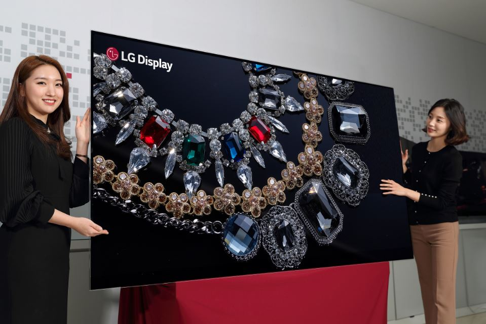 LG develops 88-inch 8K OLED display