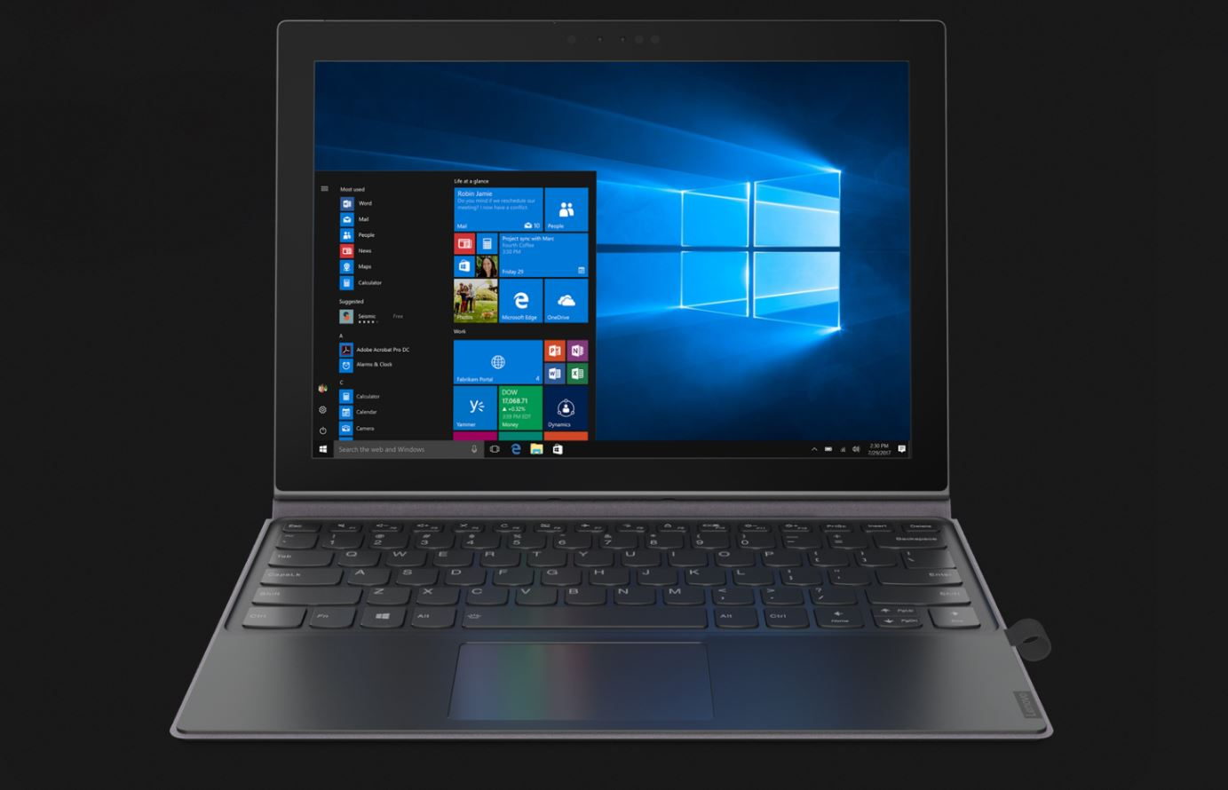 Deal: Lenovo's Miix 630 Windows 10 Always Connected PC less than $550 1
