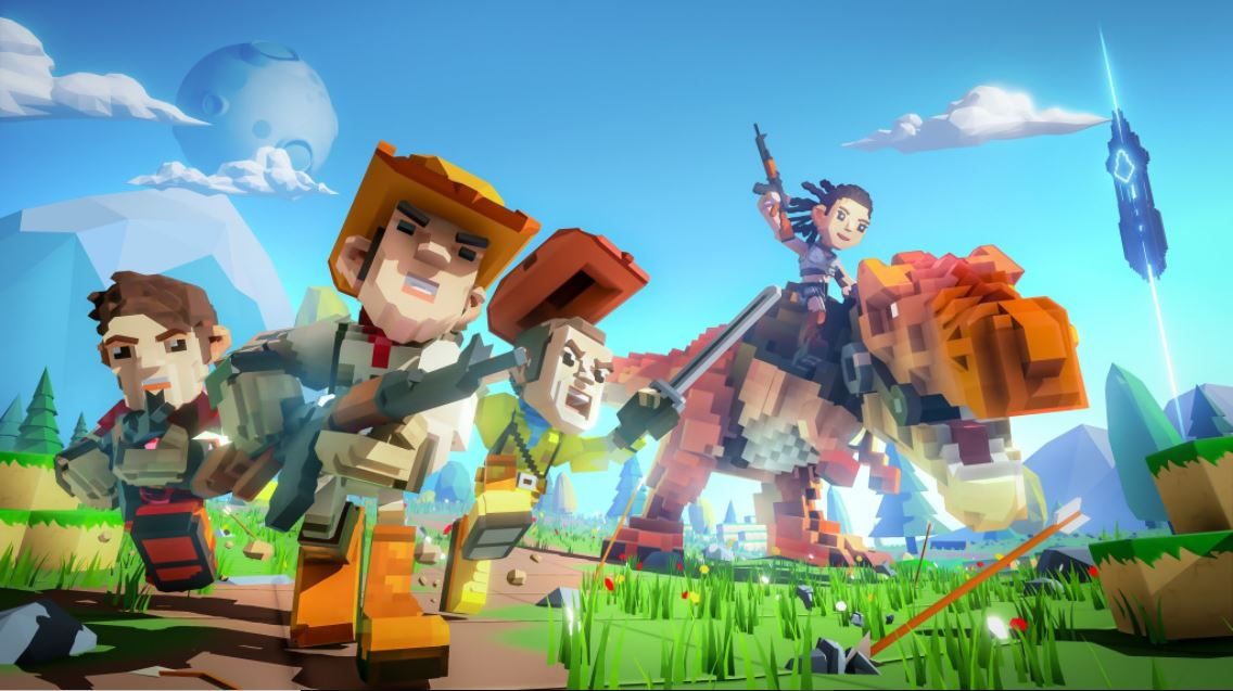 PixARK, a Minecraft-like Ark: Survival Evolved spin-off, is
