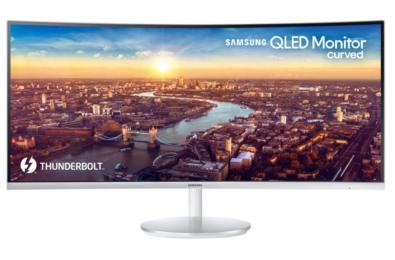Samsung reveals Thunderbolt 3 QLED Curved Monitor 2