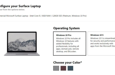 Microsoft now selling Surface Laptop with Windows 10 Pro pre-installed 6