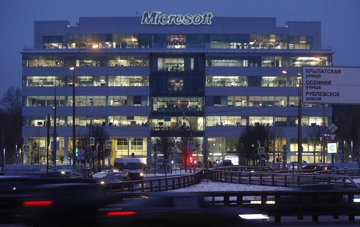 US sanctions affect Microsoft's Russian business 1