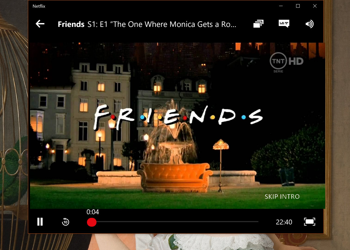 Netflix Windows 10 App