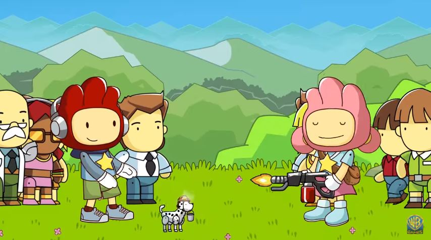 Scribblenauts Showdown Will Feature Head-to-Head Minigames