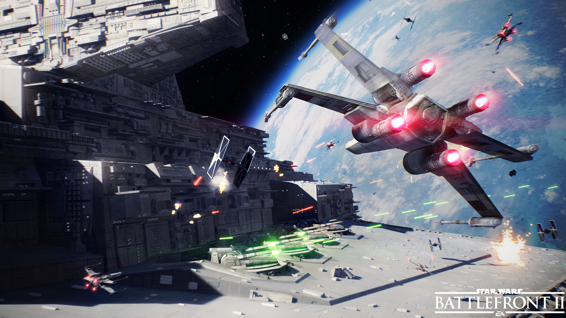 Battlefront 2 adds new Blast map and Hero ship in latest update