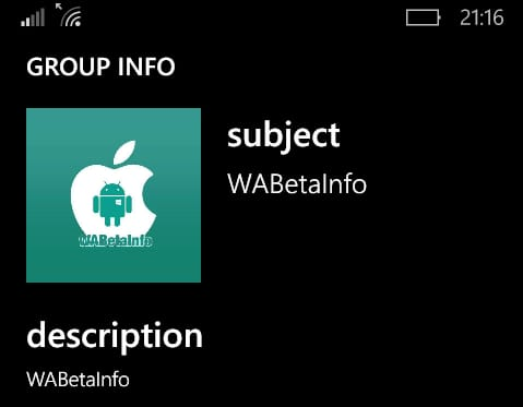 WhatsApp Beta for Windows Phone updated with new