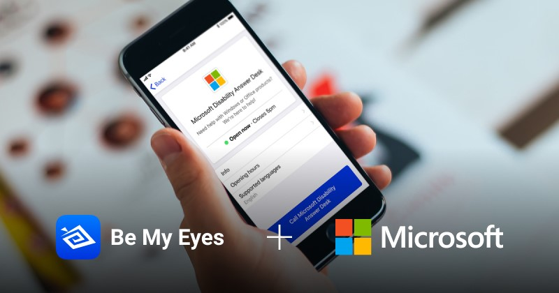 Be My Eyes Is A Fast Growing App Among Blind Or Low Vision Community Of  People. This App Connects Blind Or Visually Impaired Users With A Sighted  Volunteer, ...