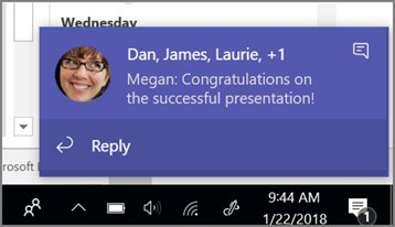 Microsoft Teams now allows you to respond to chat messages