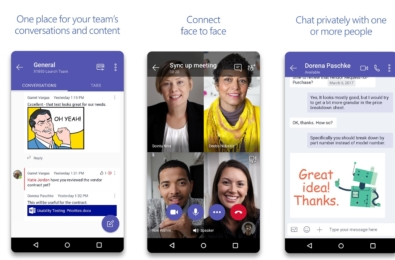 Latest Microsoft Teams for Android update allows you to react on messages with emojis 15