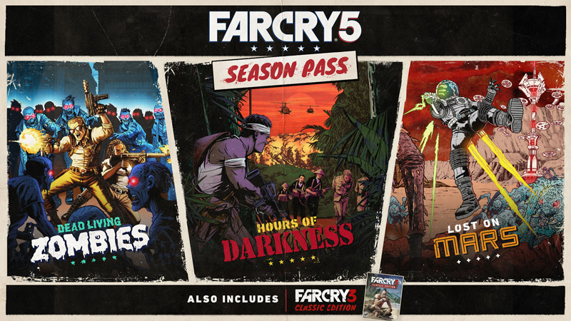 Update Far Cry 5s Dead Living Zombies Dlc Appears To Have Released On Xbox One Early
