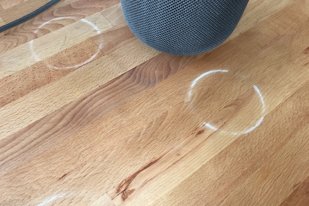 Apple HomePod May Leave White Rings on Some Wood Furniture