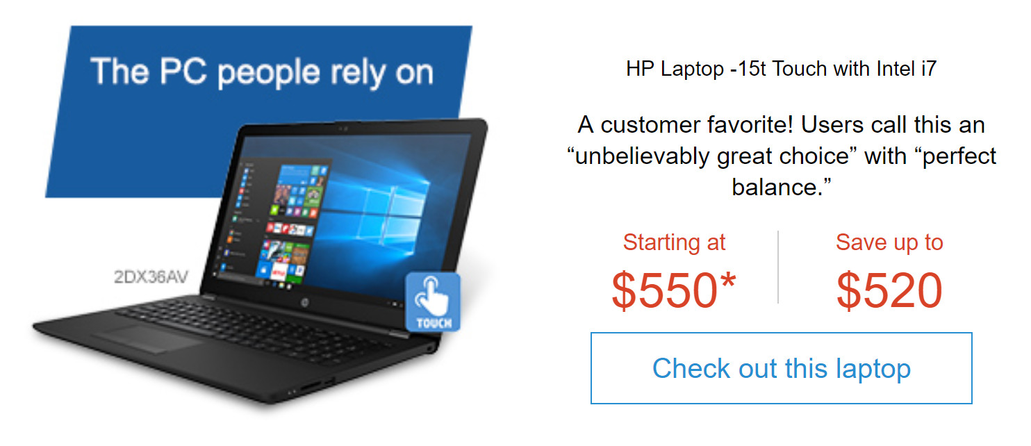 HP kicks off Presidents Day sale with big savings on laptops and desktops