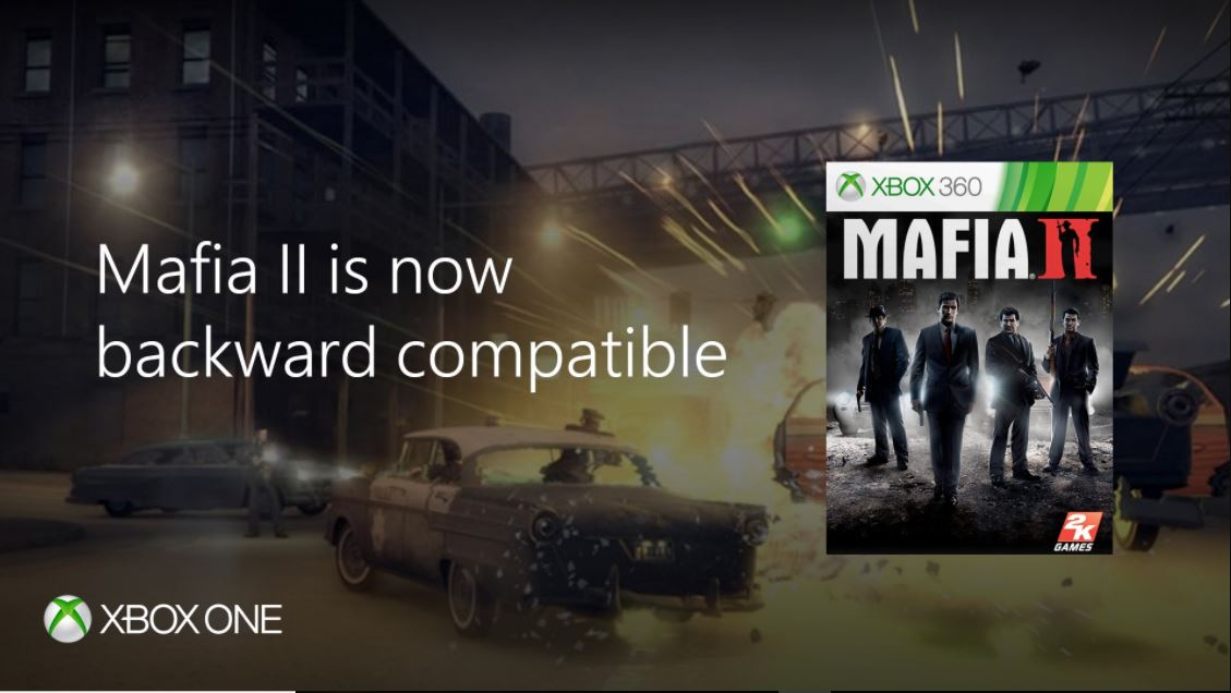 Mafia II and Prey are coming to Xbox One backward compatibility today 1