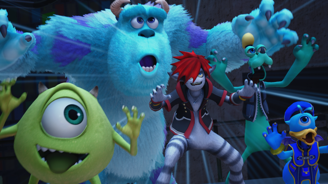 New Kingdom Hearts 3 Trailers show Monster's Inc World and Theme Song