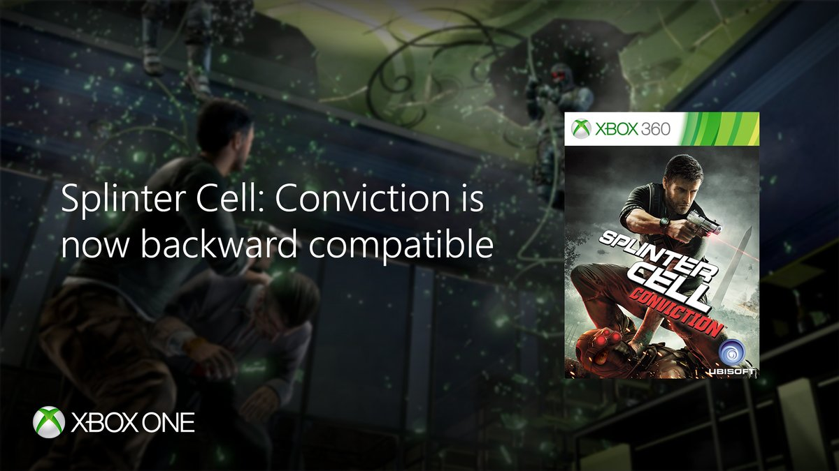 Conviction joins the ranks of Xbox One backwards compatibility — Splinter Cell