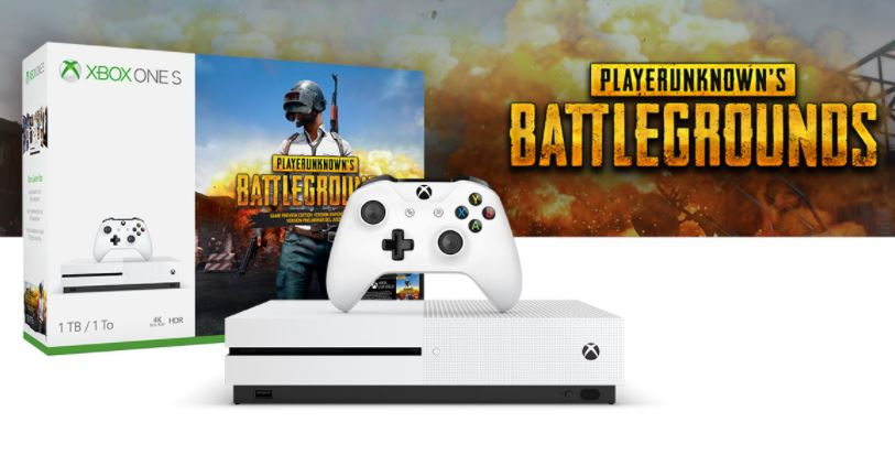 Microsoft to Launch Xbox One S PUBG Bundle