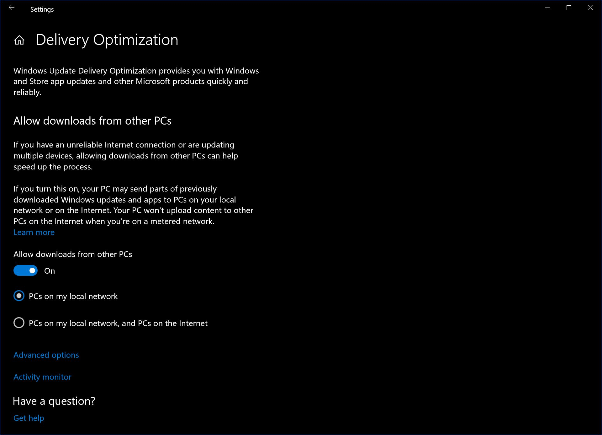 how to unblock downloads on windows 10