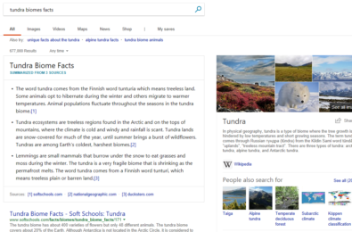Microsoft Bing announces improved intelligent search features 21
