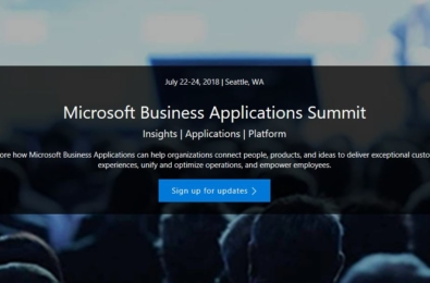 The Microsoft Business Applications Summit is coming this summer 6