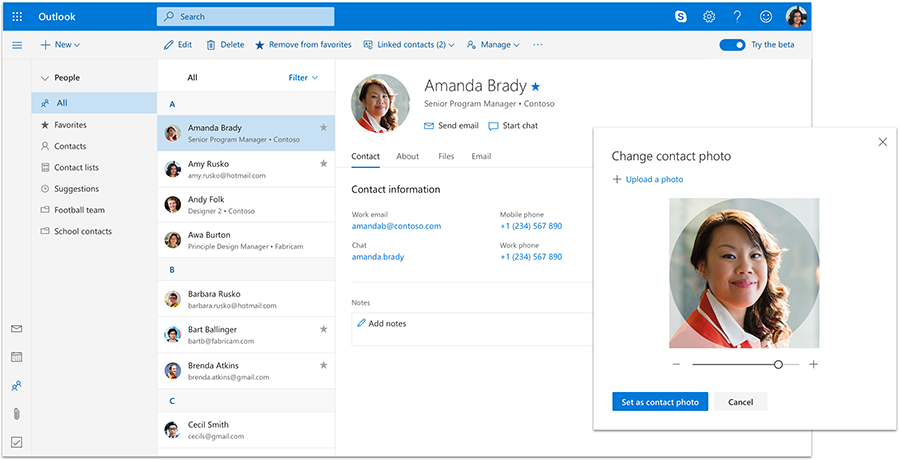 Image result for outlook people