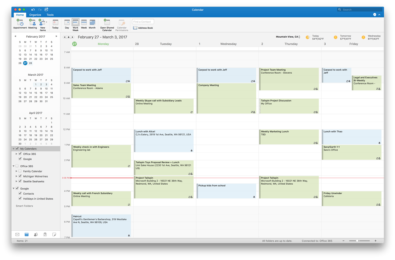Google Calendar and Contacts support in Outlook 2016 for Mac now rolling out to Insider Slow users 9