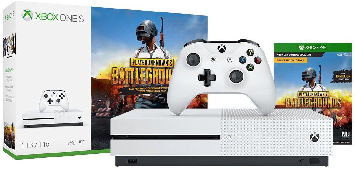 Deal: Xbox One S 1TB PLAYERUNKNOWN'S BATTLEGROUNDS Bundle