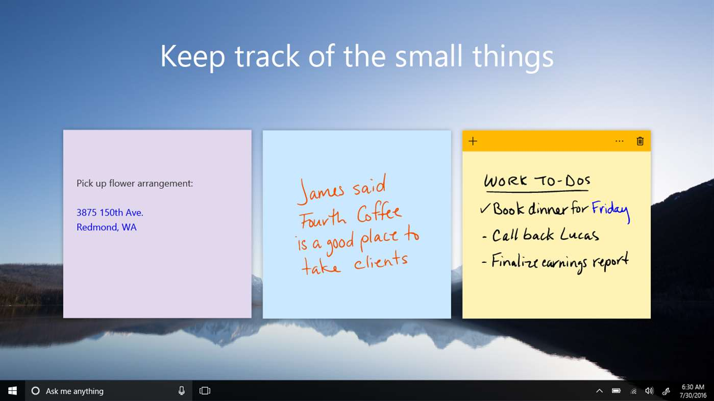 how to find sticky notes in windows 8.1