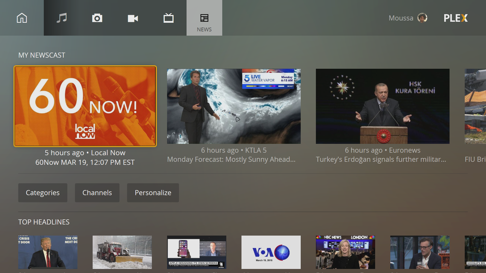 Plex update on Xbox One improves user interface and fixes various