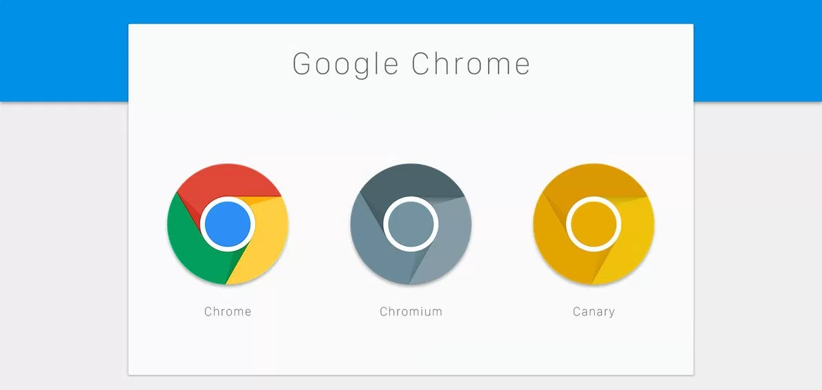 latest canary build for google chrome brings major design changes