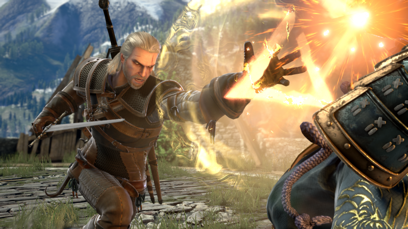 Geralt Of Rivia Is Coming To SoulCalibur VI