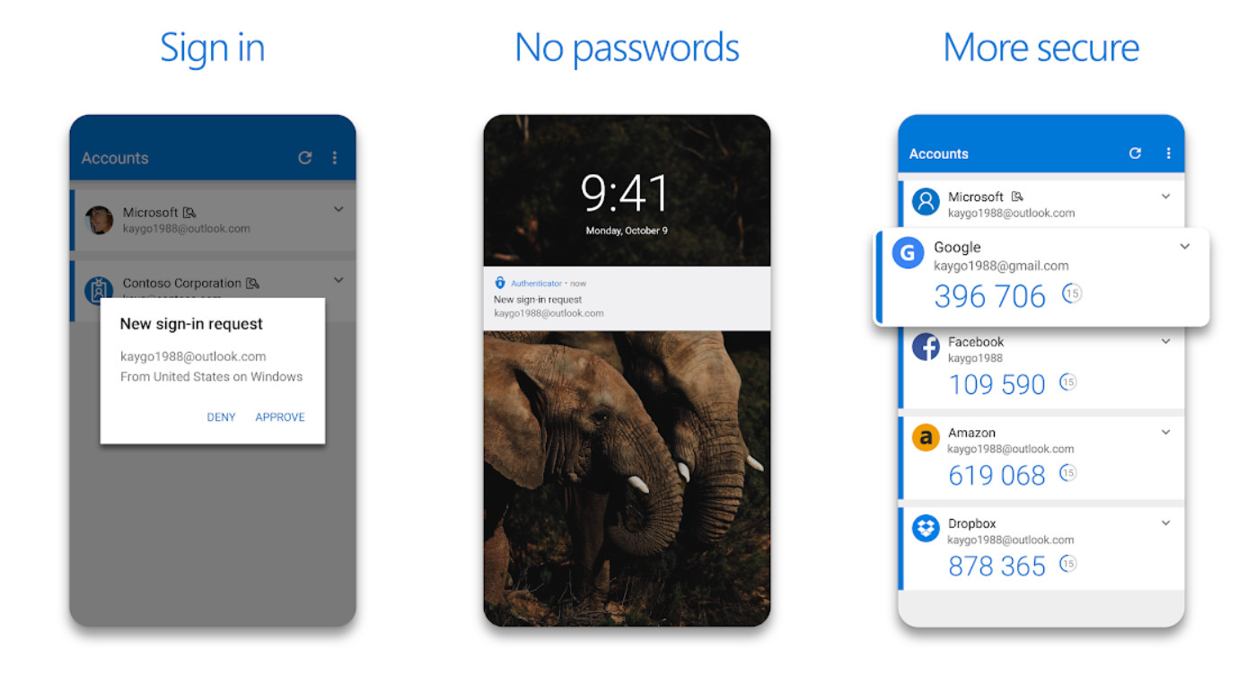 Microsoft Authenticator app for Android updated with new look and